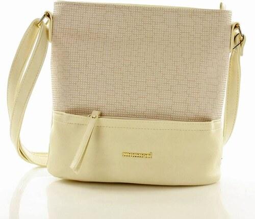 MONNARI klasszikus női táska borítéktáska bézs színű - Glami.hu 2cdb71b184