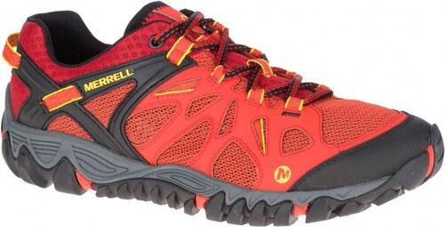 -32% Pánská Treková obuv Merrell ALL OUT BLAZE AERO SPORT spicy orange bf2e5a4a574