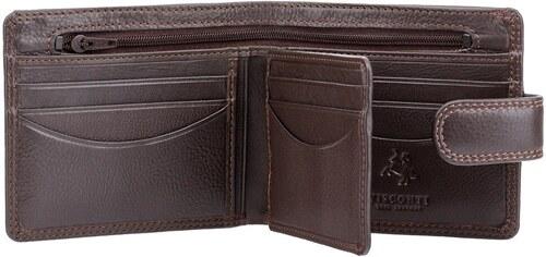 cdc0d8663bd Visconti klasická pánská peněženka se zipem - Glami.cz