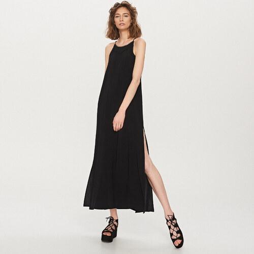 Reserved - Maxi ruha pántokkal - Fekete - Glami.hu 302c8671f9