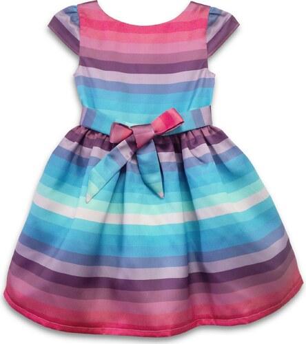 Joe and Ella Dievčenské šaty Cotton Candy - farebné - Glami.sk f9337016bc4
