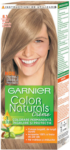 Vopsea De Par Permanenta Cu Amoniac Garnier Color Naturals 81 Blond