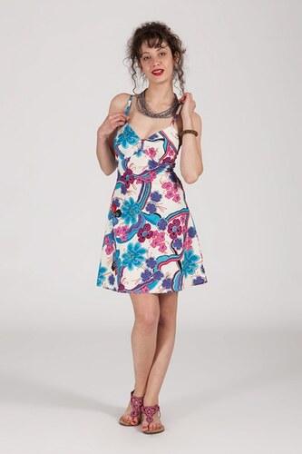 ETNO Krátké letní šaty FLOWERY - Glami.cz 36465ca9f8
