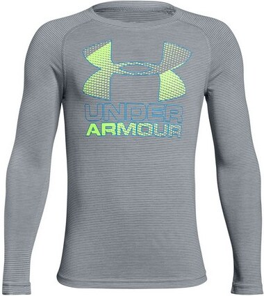 e84443d74fa6 Chlapecké tričko Under Armour Hybrid Big Logo LS T-Shirt-035-YLG ...