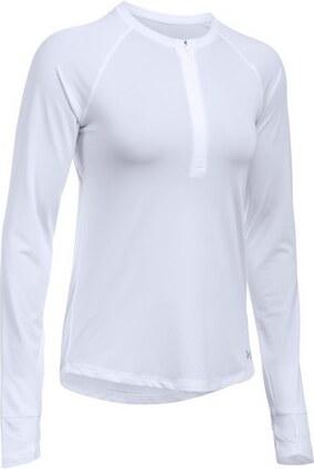 Dámské tričko Under Armour Fly-By 1 2 Zip Running Long Sleeve T-Shirt-100-LG cf25926f940