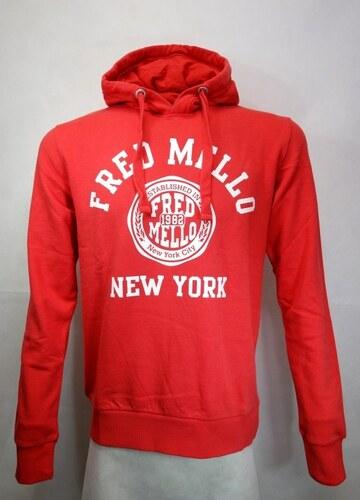 Fred Mello Felpa Red Pánská mikina FM15S01FC - Glami.cz bc55d212f1