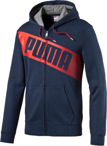 22383802bb0 Puma FUN BIG LOGO Hd Sweat Jkt TR Pánská mikina 836574-12 - Glami.cz