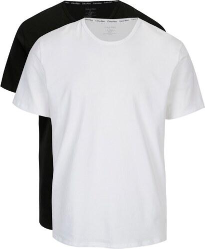 16ae2a806dbc Súprava dvoch pánskych modern fit tričiek v čiernej a bielej farbe Calvin  Klein