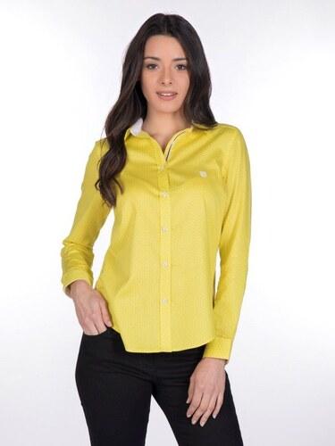 f365ac48c291 Giorgio Di Mare Dámska košeľa GI9859881 Yellow   White - Glami.sk