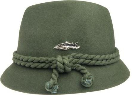 Tonak Myslivecký a rybářský klobouk zelená (P0250) 61 100133ZH ... 21174d864f