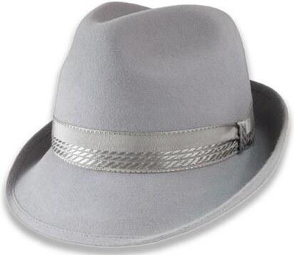 80687dd62 Tonak Luxusní plstěný klobouk světle šedá (Q8038) 58 10165/05AC ...