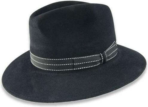 64afc0370 Tonak Luxusní plstěný klobouk černá (Q9030) 60 10129/05AF - Glami.cz
