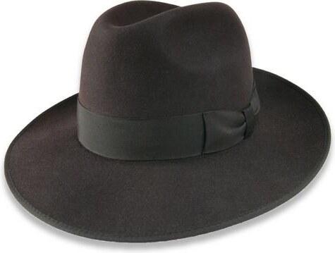 0b1a87bc32e Tonak Luxusní plstěný klobouk tmavě hnědá (Q6062) 59 11042 10HC ...