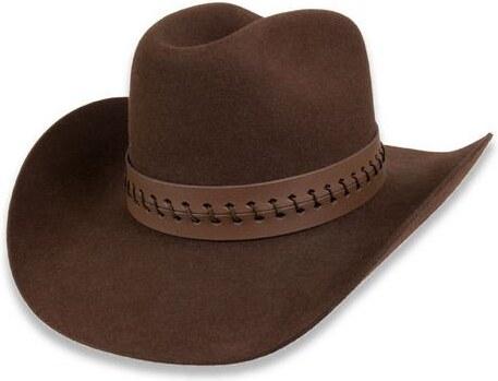 b93dea3a456 Tonak Westernový klobouk hnědá (Q6058) 58 10243 03HD - Glami.cz
