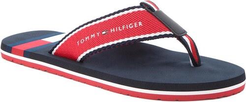a9a9f854a6 Žabky TOMMY HILFIGER - Corporate Flag Beach Sandal FM0FM01605 Tango Red 611