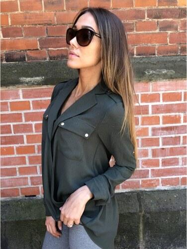 Dámská halenka Michael Kors Fashion Basics Ivy - Glami.cz 4d5c72060e