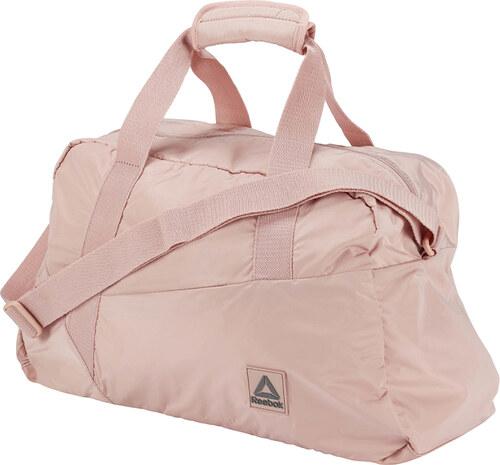 77311c13b0 Reebok Svetloružová športová taška W Found Grip - Glami.sk