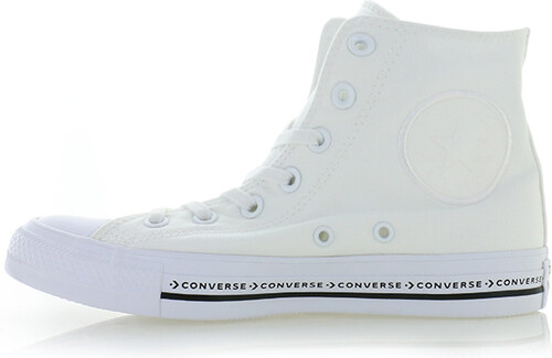 -37% Converse Dámské bílé vysoké tenisky Chuck Taylor All Star Pinstripe 065d4cfa02