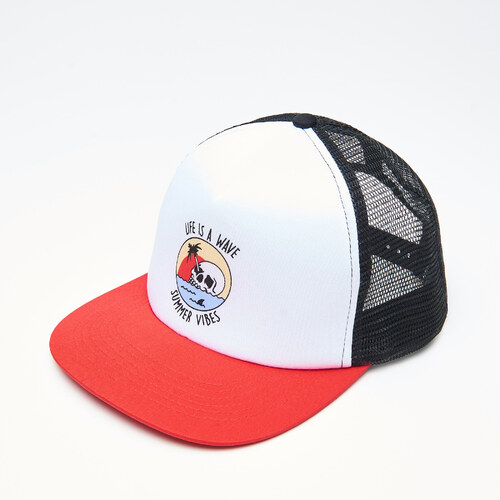 Cropp - Trucker sapka - Piros - Glami.hu d10019ce9f
