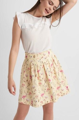 ORSAY Bavlněná sukně nad koleno s květovaným vzorem - Glami.cz c1773eb6f6