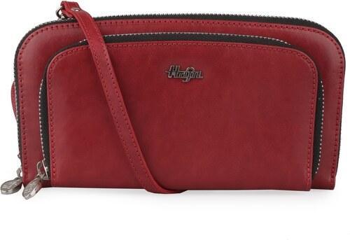 Hajn Dámska kožená peňaženka s popruhom 1593215 - Glami.sk db6d9f4742d