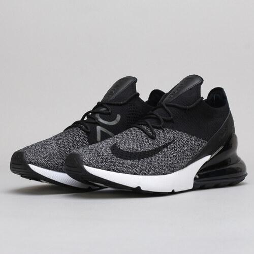 Nike Air Max 270 Flyknit black   black - white - Glami.cz 281ad2b574