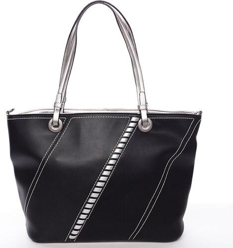 Exkluzívna dámska kabelka cez rameno čierna - MARIA C Fatima čierna ... 62577430a51