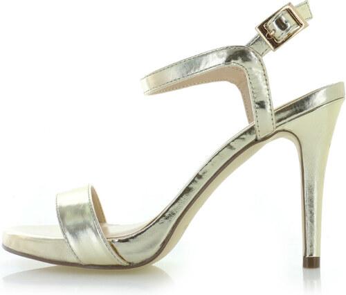 4efaf924bc49 Menbur Zlaté sandále Italia - Glami.sk