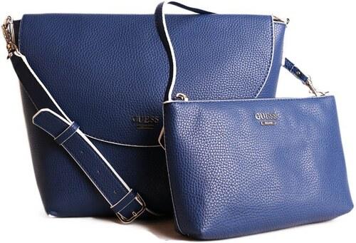 Guess luxusné značkové kabelky crossbody NS642221 modré - Glami.sk 06a2231559b