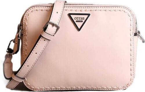 aa12b5f25b0f Guess luxusné značkové kabelky crossbody béžové ST695912 stone