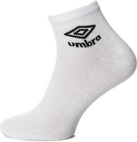 efd23a57300 Umbro Ponožky Quarter 3Pk Wht Pánské Doplňky Doplňky UL37SKA02001 Bílá S