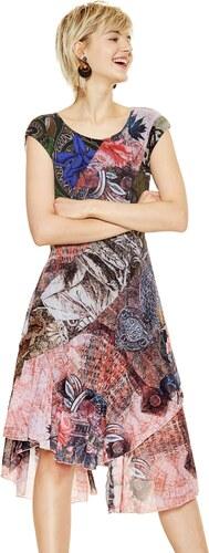 Desigual barevné šaty My Sweetheart 18SWVKBQ - Glami.cz 6e0fe62f4dd