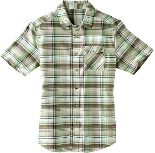 0c5afc2a4d Vypredaj-zlavy.sk Kockovaná košeľa s krátkymi rukávmi zelená - Glami.sk