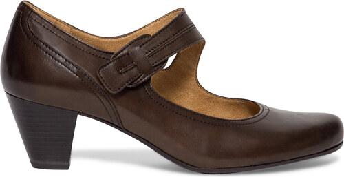 Escarpin confort Caprice Escarpin marron cuir Caprice cuir marron confort UUTxr5wqZ