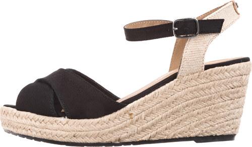 Női Tom Tailor Telitalpú cipő Fekete Bézs - Glami.hu d374505751