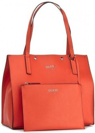 Guess Oranžová kabelka Guess s kosmetickou taštičkou 9123 - Glami.sk 8795569800d
