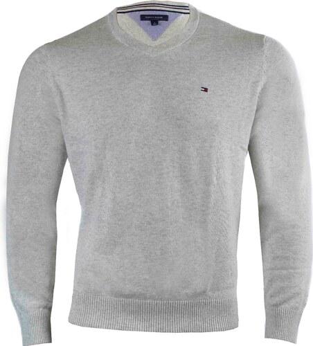 Tommy Hilfiger Pánský šedý svetr Tommy Hilfiger 9328 - Glami.cz a022dea5c4