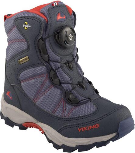 Dětské zimní boty VIKING 82100 BOULDER NAVY RED - Glami.cz 7e2772260b