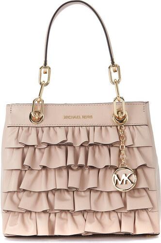 407dba7e8023f Umhängetasche Handtasche Cynthia aus Pink Leder mit Rüschen von MICHAEL  Michael Kors