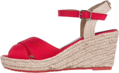 Női Tom Tailor Telitalpú cipő Piros - Glami.hu fb026180c4