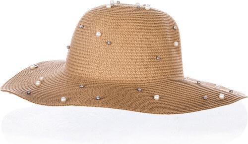 Fashion Icon Dámský letní klobouk s perlíčky - Glami.cz aab727a81c