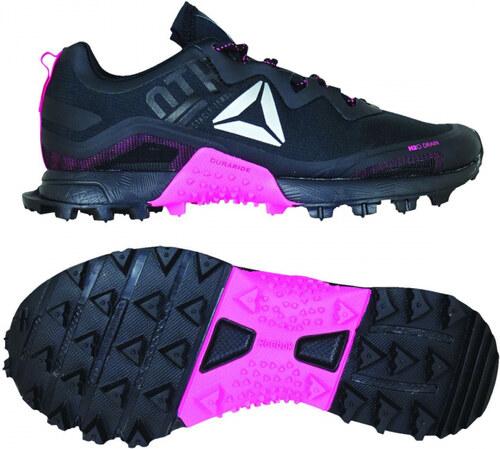 Dámske bežecké topánky Reebok ALL TERRAIN CRAZE (Čierna   Ružová    Strieborná) 8c4c44883fe