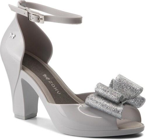 -7% Sandále ZAXY - Diva Bow Sandal Fem 82442 Szary Srebrny 50802 AA285083  02064 0d82e0425e