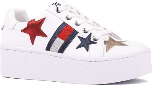 Tommy Hilfiger bílé tenisky Tommy Jeans Icon Sparkle Sneaker - 39 ... 7cc8e26ed8