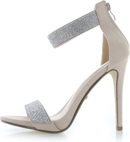 Ideal Béžové sandály Laren - Glami.cz 0c725b67c6