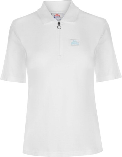 8331beb9a638 Lonsdale Zip Polo Top dámské White - Glami.sk