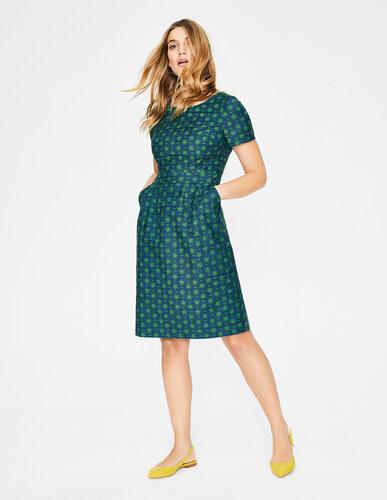 Sierra Strukturiertes Kleid Green Damen Boden - Glami.de dbe97c061e