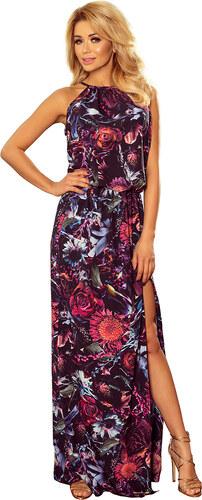 96b5fb60b03e Dámske šaty Numoco 191-1 kvety 3D - Glami.sk