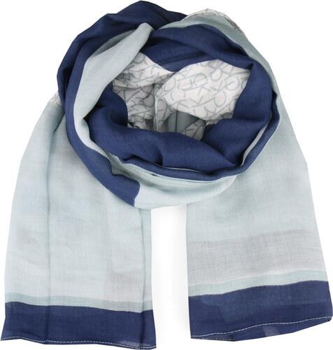 Calvin Klein kék kendô New Joyce 2 - Glami.hu 32226c865c