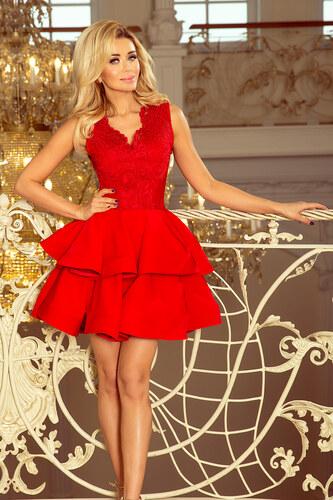 a80265e07ceb Numoco Exkluzívne šaty červené 200-4 - Glami.sk